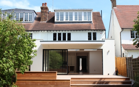 House Extension London 171 Clear Future Architecture