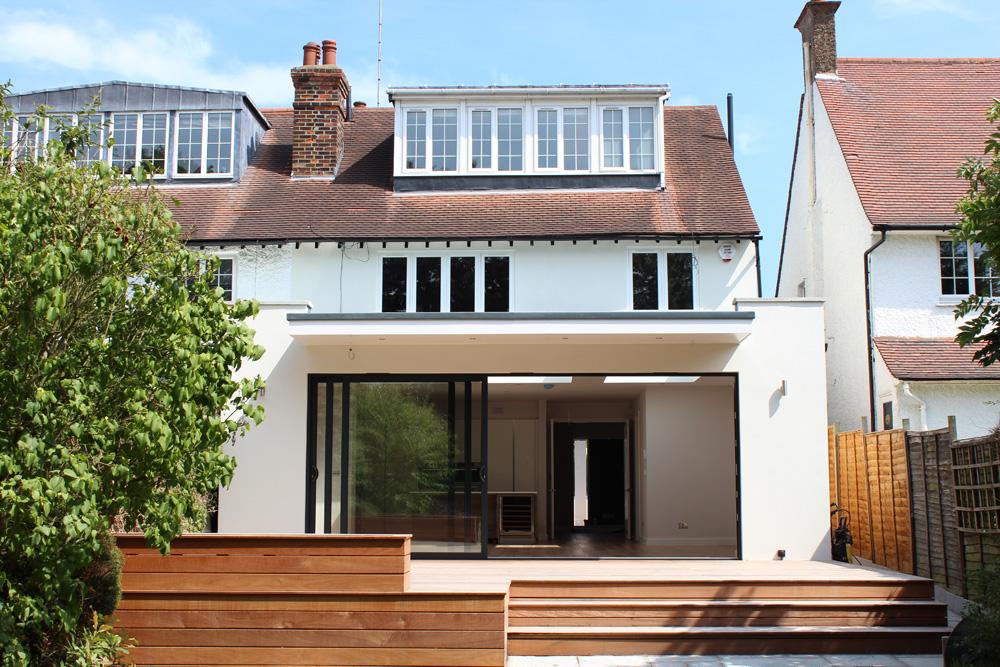 loft conversion dormer designs - House Extension London Clear Future Architecture